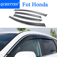 QCBXYYXH Car Styling Awnings Shelters Window Visors rain eyebrow For Honda CRV HRV Vezel Civic Accord City Fit Spirior Odyssey