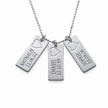 Personality Bar Pendant Necklace Handmade High Quality Long Jewelry Custom Made Any Name YP2753