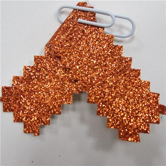 Красочные Тонкие Блестки Ткань блестящий материал 30*138 см мини рулоны пришить, клей или высечки, обои, Diy ремесло, банты для волос - Цвет: 5