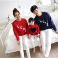 2017 hoodies mommy and me clothes	fashion mother daughter outfits	cotton family look full sleeve letter