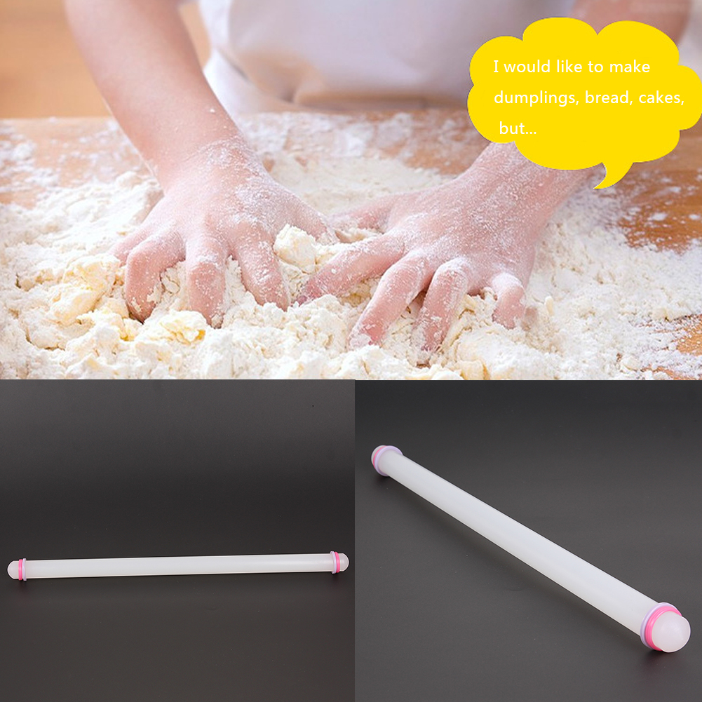 Hot Sale 50cm Non-Stick Sugarcraft Fondant Rolling Pin Baking Cake Cookie Tools Pastry Tools Kitchen Baking Accessories