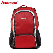 2017 Kawasaki Brand Racquet Sport Bags Badminton Rackets Bag Back pack for Men Women Fitness Gym Travel 2 Colors Red Blue