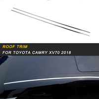 Roof Trim Sitcker Cover Accessories for Toyota Camry XV70 2018 Auto Car styling