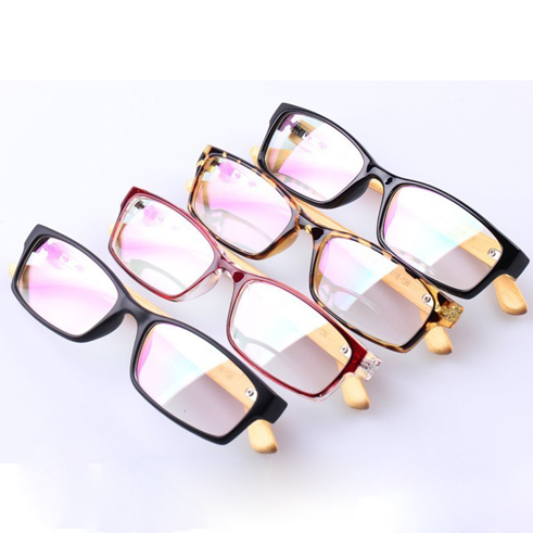 59926f103a00a 2016 lectura imitación madera Gafas oculos de Grau feminino mujeres hombres  vintage Gafas lente transparente moda óptica marcos n485