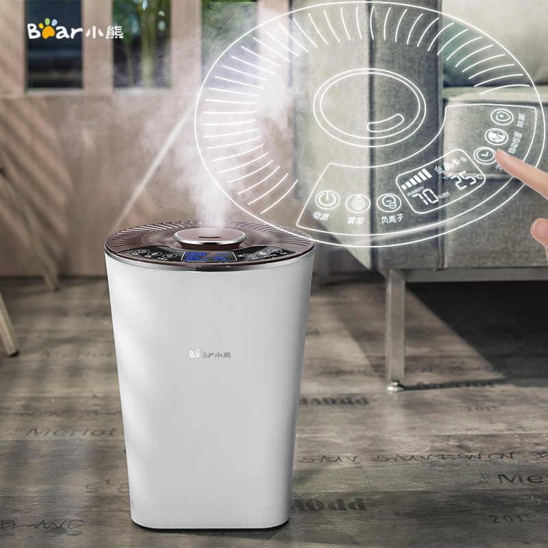 Xiaomi отрицательный ионовый увлажнитель Интеллектуальный постоянный влажность бытовой ультразвуковой спальня ароматерапия немой очиститель воздуха для офиса