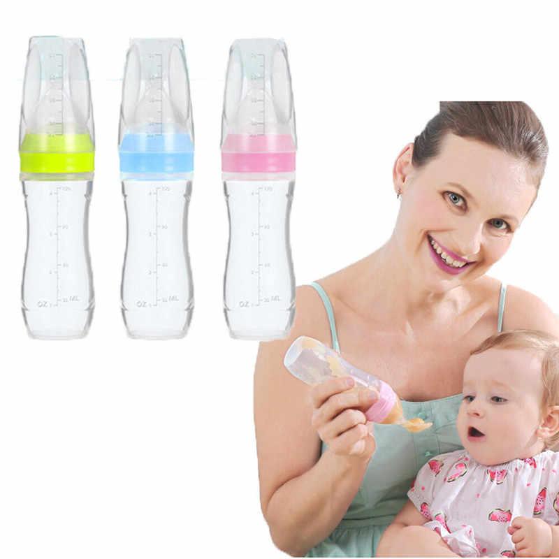 เด็กน่ารักขวดทารกจุกนมหลอกเด็กเครื่องมือนมช้อนซิลิโคนเด็กทารก Pacifier Pacifier