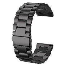 Gengshi 24 มม.สแตนเลสสตีลสายรัดข้อมือสำหรับ Kospet Hope/Optimus Pro/Brave/Prime นาฬิกาโทรศัพท์ผู้ชายนาฬิกา