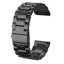 Gengshi 24 ミリメートルステンレス鋼リストバンドストラップブレスレット Kospet ため希望/オプティマスプロ/勇敢な/首相腕時計の電話男性時計バンド