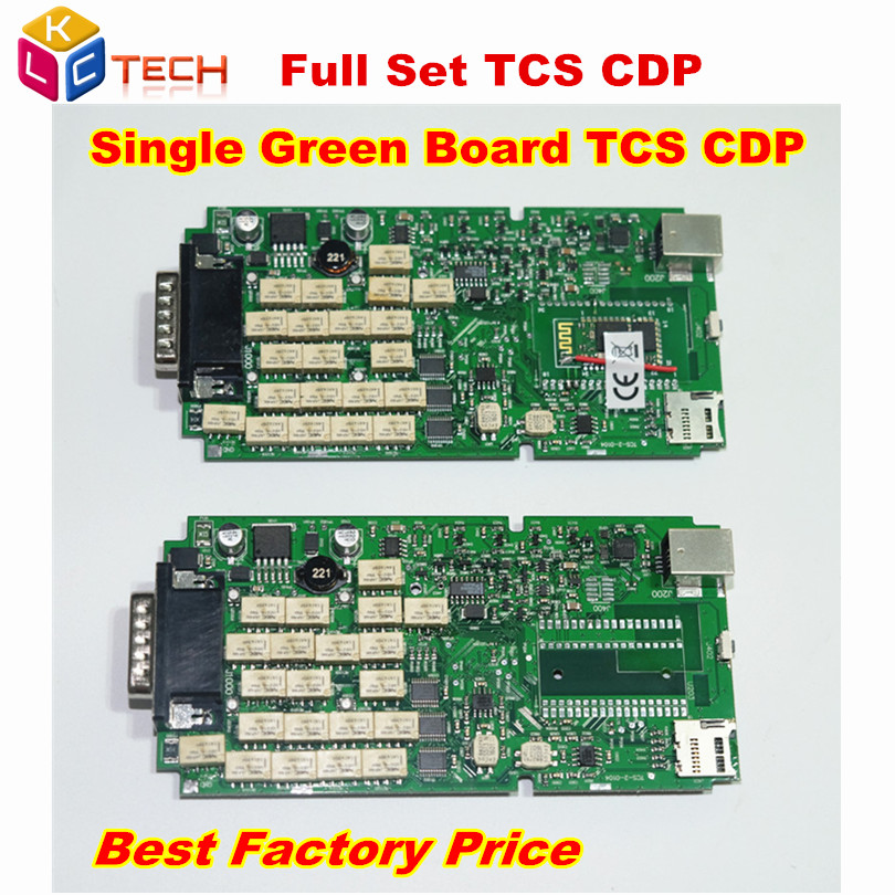 Цена за Best качество одной Зеленый печатной платы TCS CDP + Pro Нет Bluetooth автомобилей и грузовиков инструмент диагностики 2014.2/2015.3 Дополнительно