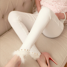 Women's Leggings Trousers Sexy Casual Fit Fashion Thin Leg-Warmer Most-Sizes