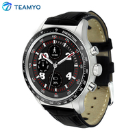 TEAMYO Y3 Smart Watch Android 5.1 Full View Screen Watch Quad Core 512MB + 4GB Heart Rate Monitor 3G WiFi GPS Tracker Wristwatch