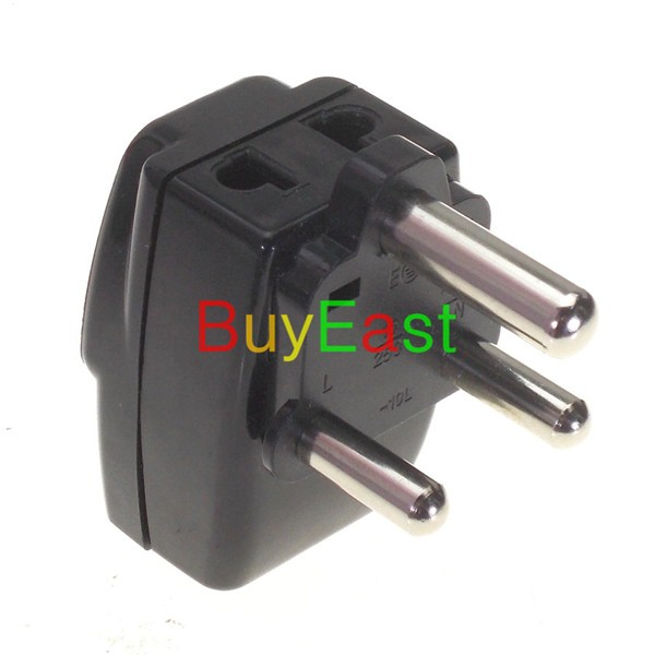 ჱ2 X South Africa Electrical Plug Travel Adapter 3 Way Power Outlet ...