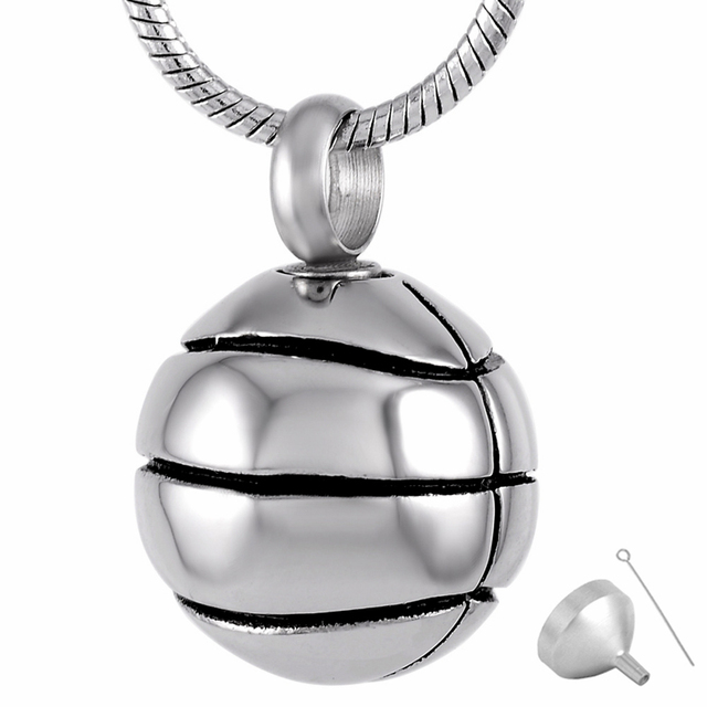 8113 stainless steel cremation jewelry pendant for ashes urn 8113 stainless steel cremation jewelry pendant for ashes urn necklace football shape memorial necklace for men aloadofball Choice Image