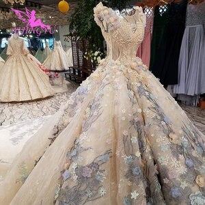 Image 3 - AIJINGYU スリムウェディングドレスアンティークガウン脂肪ホットオランダリアル価格ドレスパーティーヴィンテージ InspiNew のウェディングドレス