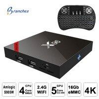 X96 Mini X96W TV BOX Smart Android 7 1 Amlogic S905W Quad Core 4K HD WiFi