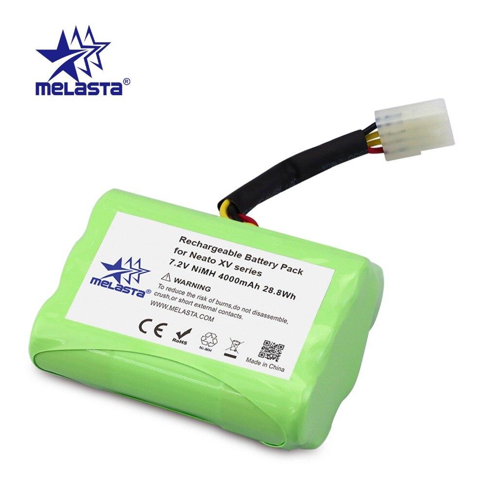 Lot Batterie 4500Mah 7.2V Pour Neato Xv-21 Xv-11 Xv-15 Xv-14 Xv-24 Xv 2Pcs f4
