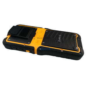 Image 4 - 2017 Rugged Waterproof Big Phone Handheld Terminal Barcode Scanner Android Bluethooth PDA NFC 2D Laser Reader 3G Data Collector