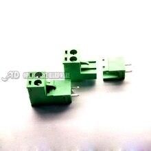 KF2EDGK Разъем-в Клеммный Блок 5.08 ММ Разъем 300 В 15А PCB Терминала 2-12 P 5 пара/лот