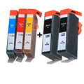 5 ink for HP 364 XL hp364 ink cartridge  For hp Deskjet 3070A 3520 3522 3524 Photosmart Plus B209a B209c B210a B210c  printer