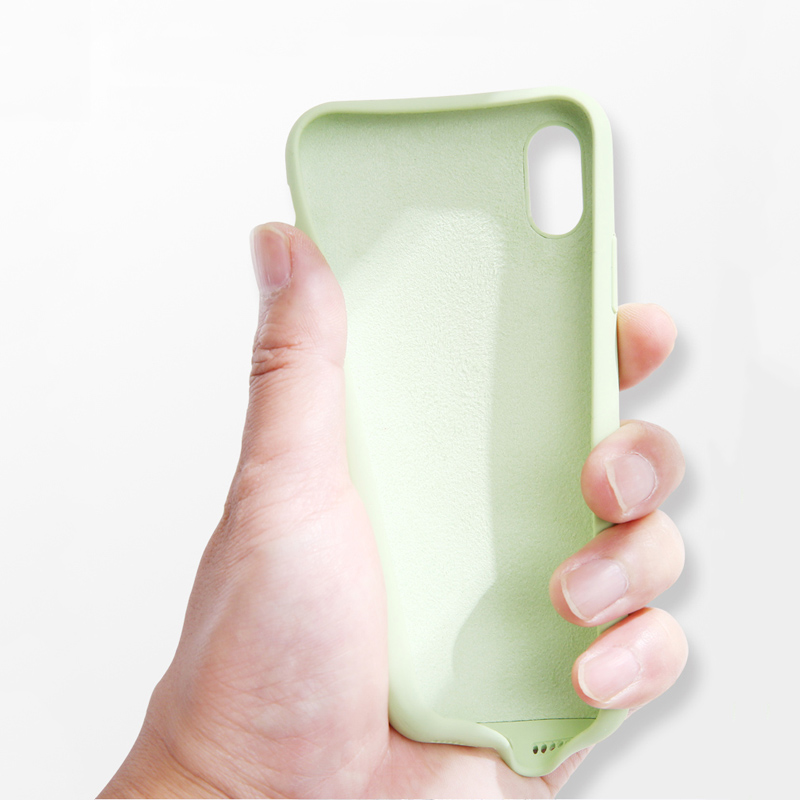 Image 5 - Lovebay высококачественные жидкие силиконовые чехлы для iphone 7 6 6 S 8 Plus XS Max XR X модный противоударный цветной чехол для телефона-in Подходящие чехлы from Мобильные телефоны и телекоммуникации