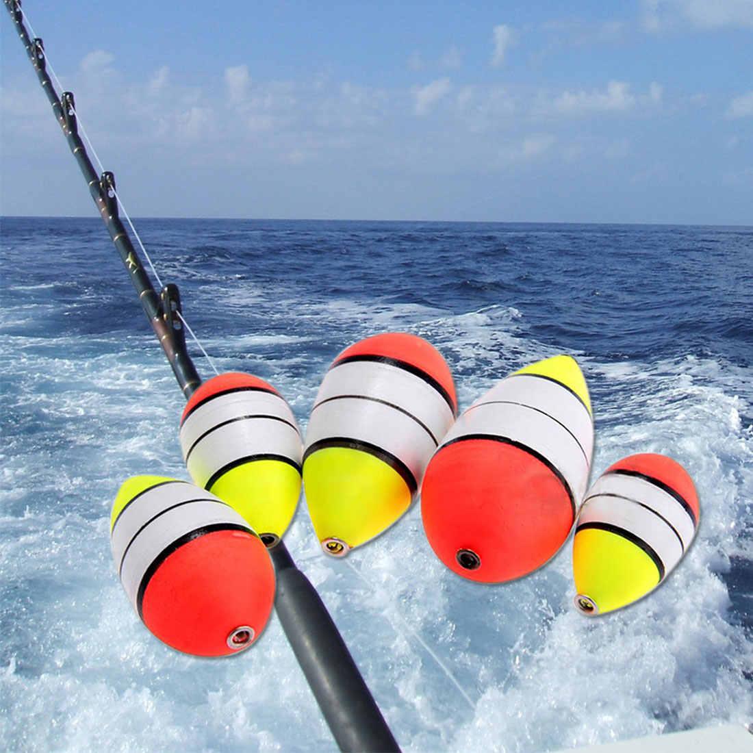 5 pçs/set Bóia De Pesca Bobber Flutuador Espuma de Espuma Ao Ar Livre-friendly potbellied Flats Profissional Peixe Bóia de pesca Acessório