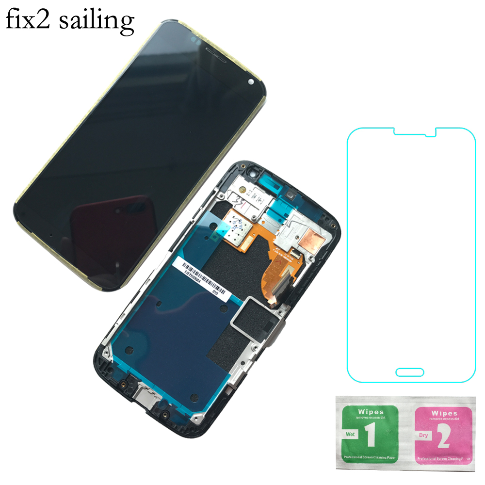 Testati Al 100% di Lavoro Display LCD Touch Screen Digitizer Assembly Con Cornice Per Motorola Moto X XT1052 XT1053 XT1056 XT1058Testati Al 100% di Lavoro Display LCD Touch Screen Digitizer Assembly Con Cornice Per Motorola Moto X XT1052 XT1053 XT1056 XT1058