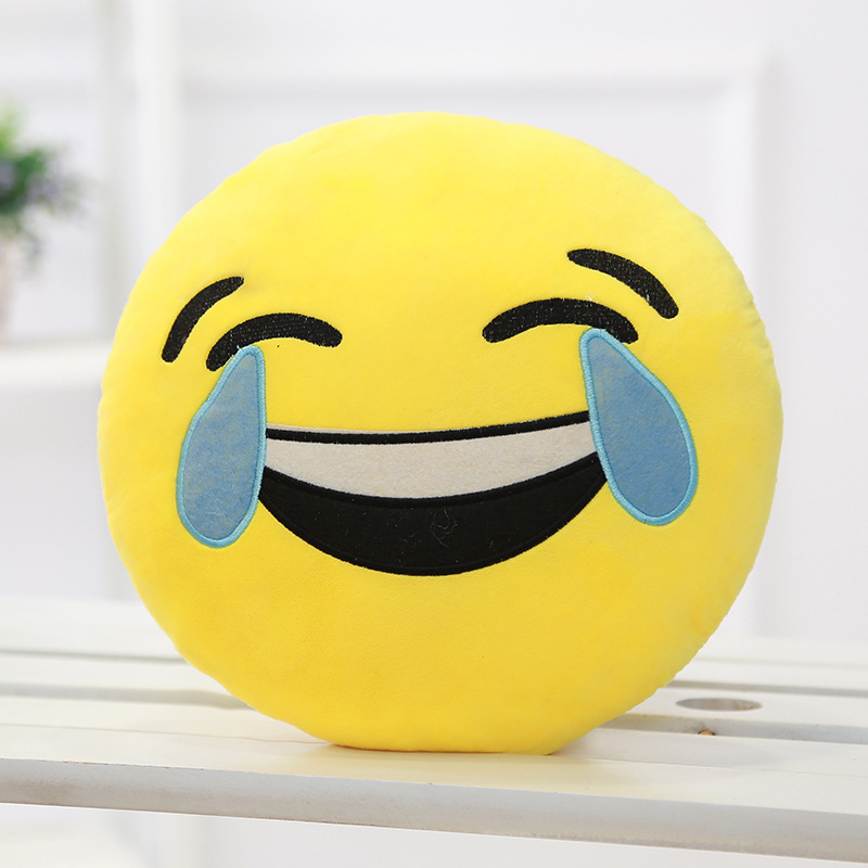 Smiley Emoji Pillow Emoticon toys Cushion novelty funny gadgets stress relief Adult toys for children novelty toys car pillow ...