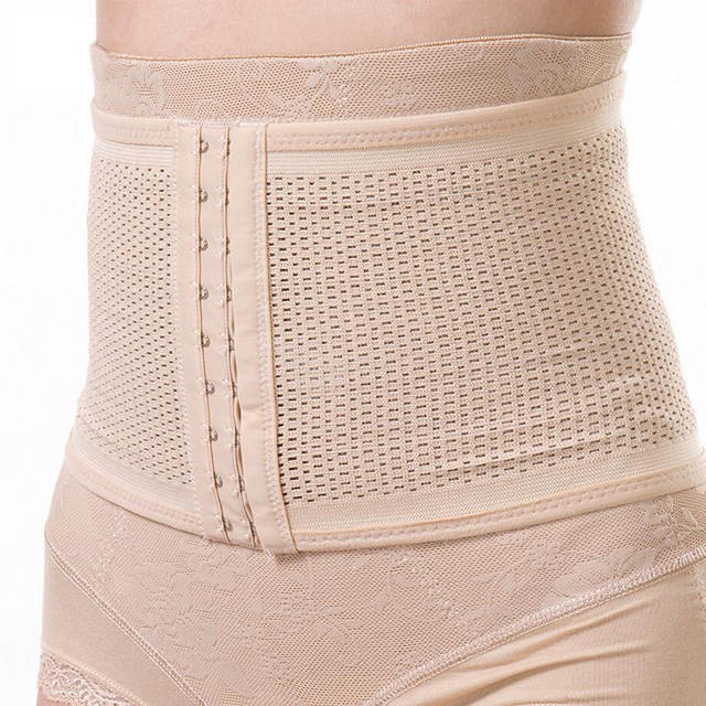 08082ac2d689e Bodyshaper women slim shapewear waist trimmer chest binder tummy control  slimming belt corset underwear shapers postpartum