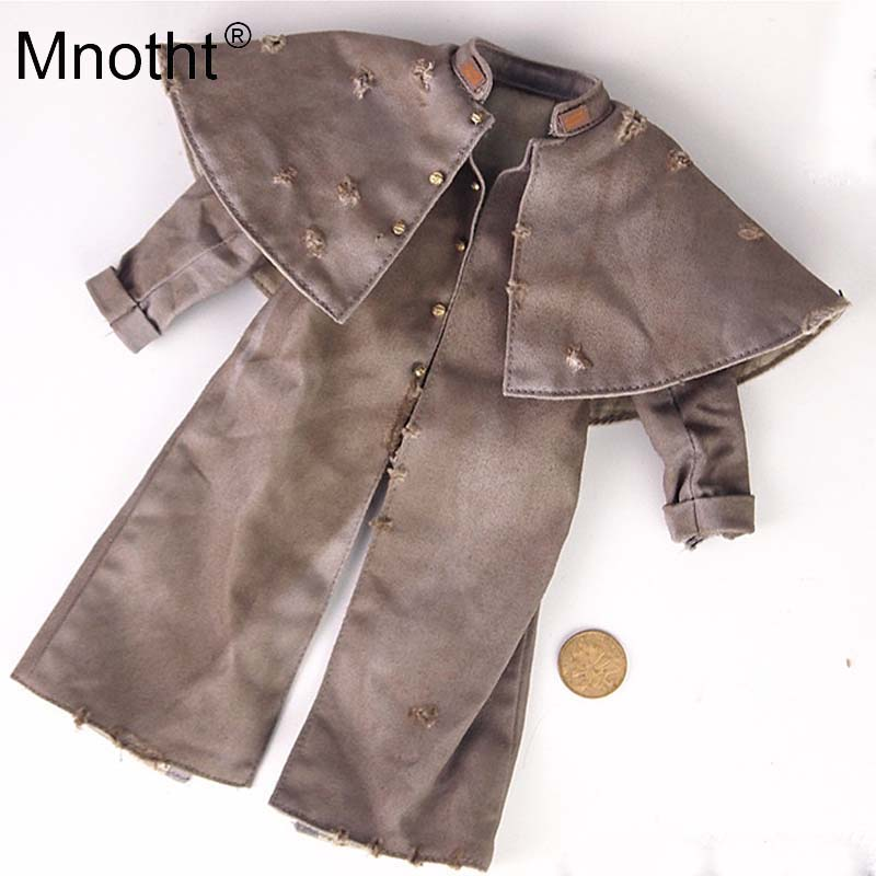 Mnotht 1:6 Scale Retro Cloak Style Coat Model Make old Style Cowboy Jackets For 12in HT DAM Soldier Action Figures toys m3 тренажер кистевой nsd power powerball autostart multi light pro