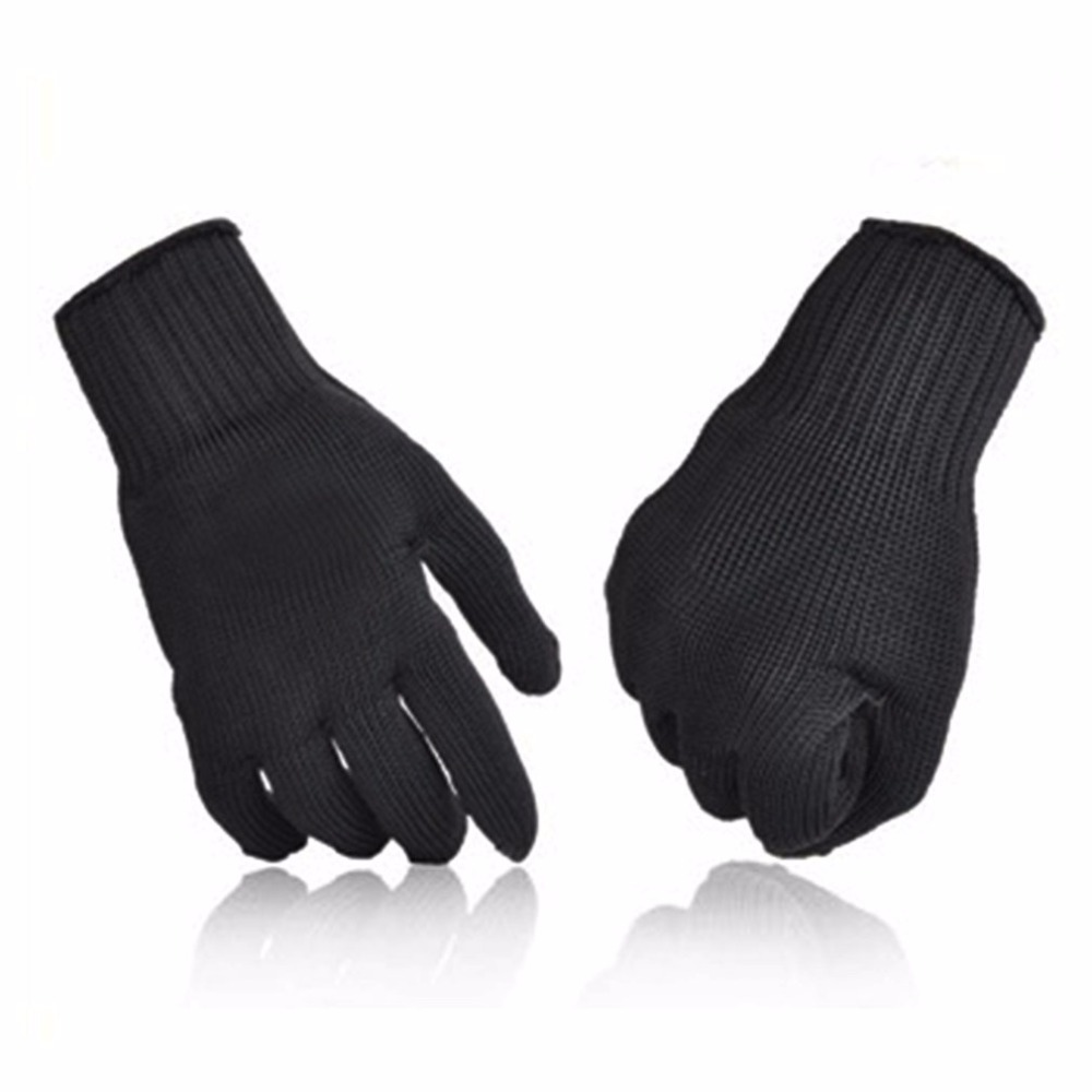 1 pair man labor insurance gloves cut-resistant gloves fishing line knitting fishing gear cutting tools safety Anti-Knife gloves