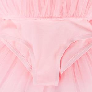 Image 5 - BAOHULU robe de Ballet Tutu grand nœud danse Ballet danse Costumes pour filles Ballet tutu danse vêtements justaucorps gymnastique robe Tutu
