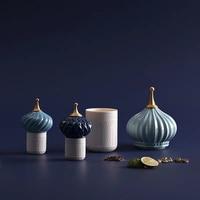 Russian Onion Domes Building Decoration/Home Interior Showpiece Jar Tank Accessories/ Christian Islam Church Souvenirs Model