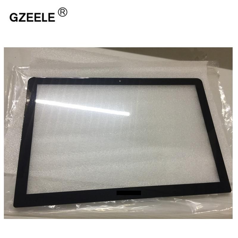 GZEELE Matrix LCD LED Screen Glass For Macbook Pro 15 17 Unibody A1286 A1297 Display 2009 2010 2011 2012 BEZEL CASE цена