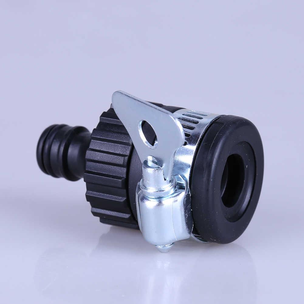Открытый садовый полив кран шланг разъем адаптер подходит для 14-21 мм кран трубы разъем адаптер для садоводства черный