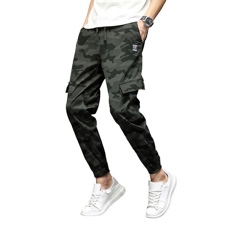 2018 hivers cargo pantalon hommes impression camouflage pantalon salopette épaississement faisceau haroun pantalon tactique pantalon épaissir