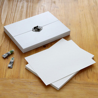 21pcs/Set export watercolor paper set A4 size independent page blank drawing water soluble color watercolor paper