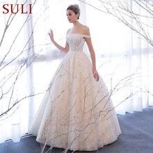 SL 309 Thanh Lịch Tắt Vai Cô Dâu Bóng Đồ Bầu HạT Giá Rẻ Toàn Ren Váy Áo
