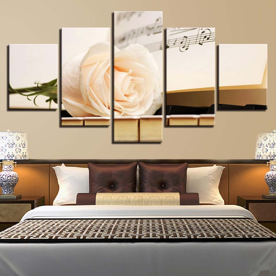 modern living room decor ideas.htm 2020 home decor canvas art modular poster 5 panels music score  canvas art modular poster 5 panels