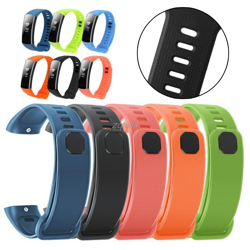 OOTDTY Silicone Replacement Band Wrist Strap For Huawei Band 2/Band 2 pro Smart Watch Z07 Drop ship