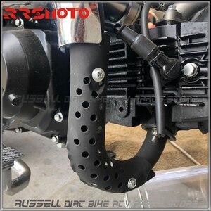 Image 5 - Exhaust Muffler Pipe Ring Gasket Alloy For Honda Mini Trail motorcycle Monkey bike Z50 Z50J Z50R Z50A