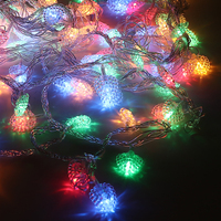30m 300 bulbs Heart LED string lights Decoration Christmas lights Garland New year party wedding decorations Light Chain