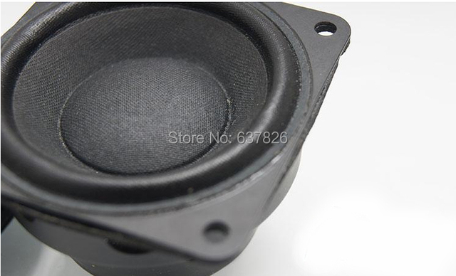 2 pcs haute qualité 2.25 polegada 8 ohm 10 W aimant néodyme pleine gamme haut - parleur