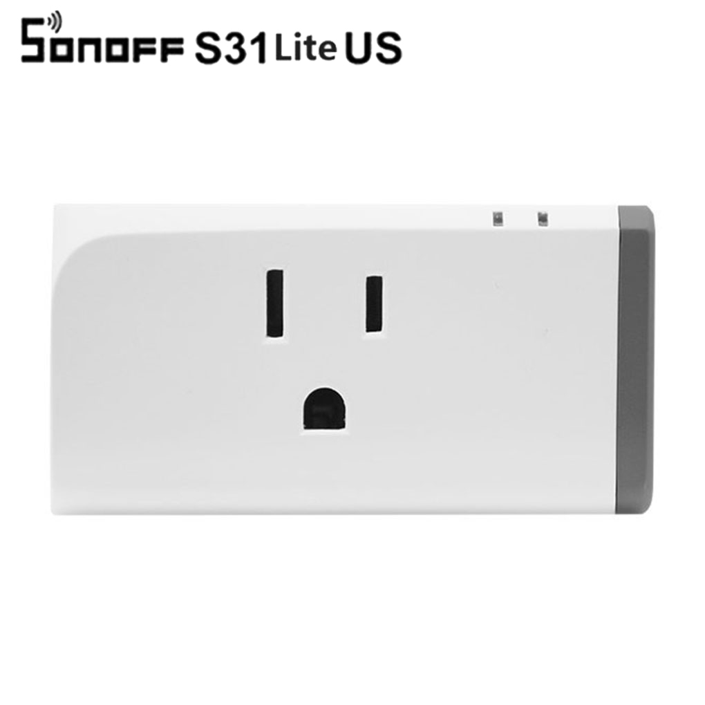 Sonoff S31 Lite US 16A Mini Smart Wifi Socket Wireless Smart Switch Plug App Control wit ...
