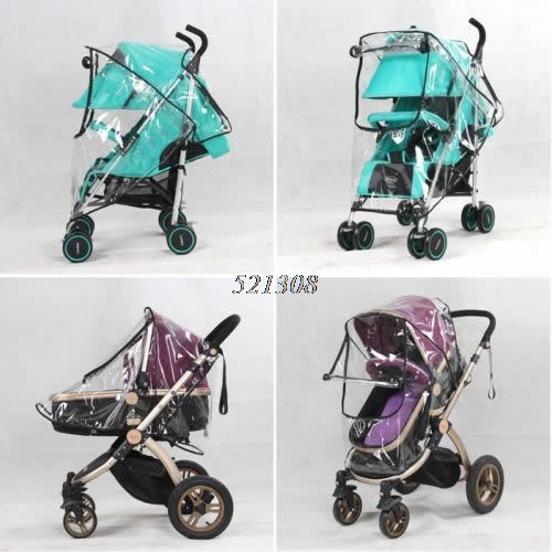 2017 Universal Waterproof Rain Cover Wind Dust Shield For Baby Stroller Pushchair FEB28_30