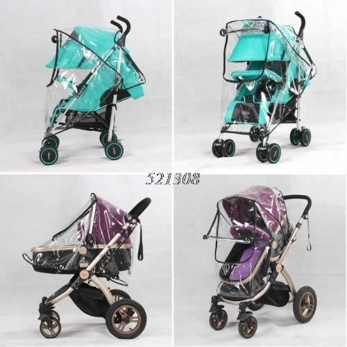 2017 Universal Waterproof Rain Cover Wind Dust Shield For Baby Stroller Pushchair FEB28_30