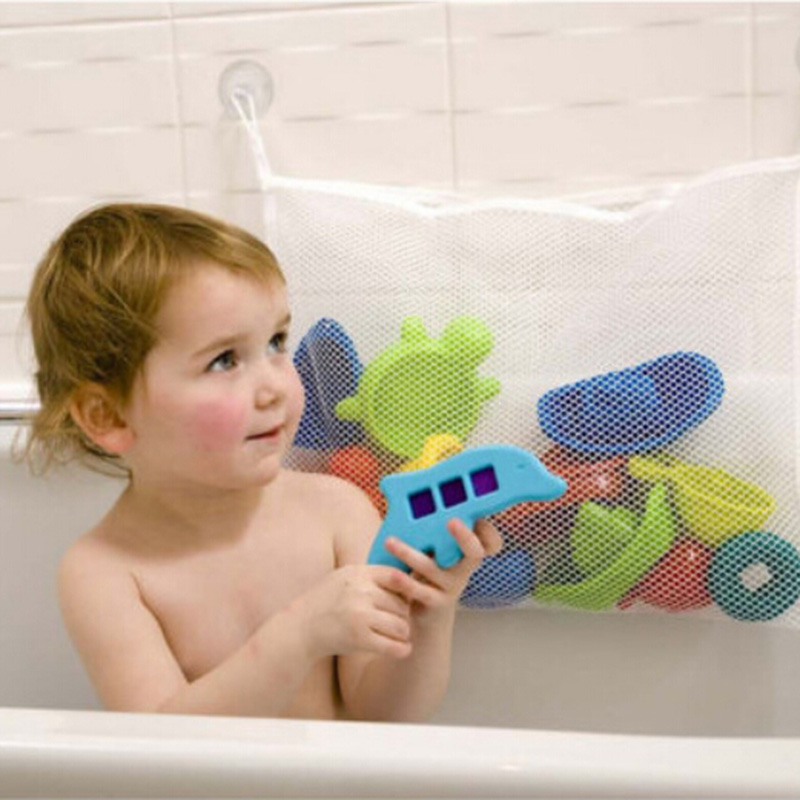 Creative Folding Eco Friendly Baby Bathroom Mesh Bath Toy Storage ...