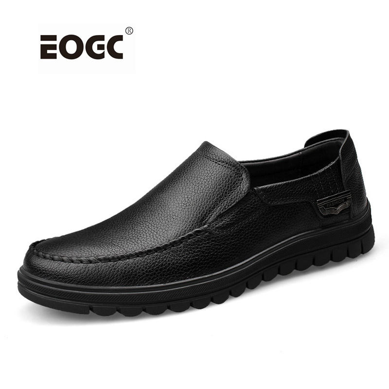 Handmade Genuine Leather Men Flats Shoes, Driving Soft Leather Men Shoes Plus Size Loafers Men Moccasins Zapatos Hombre