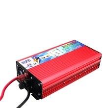 Inversor de corriente 12 V 220 V 3000 W inversor de coche 12 v a 220 v convertidor portátil de potencia automática alimentación USB cargador
