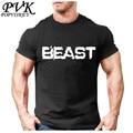 POPVISKEY Brand New Creative Art Design Beast t shirts for Men Short Sleeve Summer T-shirt Male Breathable Soft Cool Tops Tees