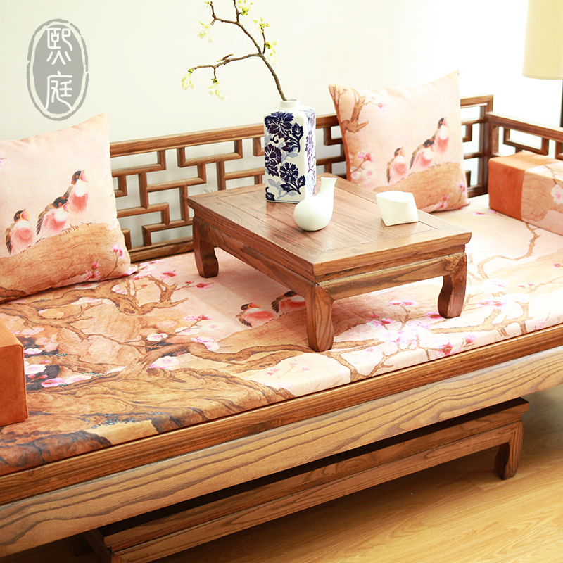 Chinese ocean bed three cushion sofa cushion pad large for Big size couch